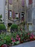 Flowered secret courtyard