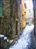 Snowy Diagon Alley