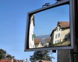 All the village in a mirror...