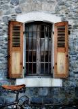 The cyclist's window