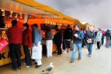 Fish stalls Patrons