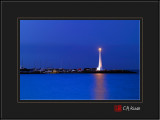 Lighthouse at St Kilda Beach