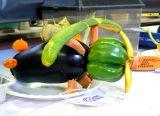 Veggie Plane Sculpture 1st Prize