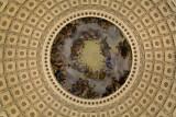 Interior of U.S Capitol Building Dome - Washington, DC
