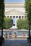 The National Archives Building from the National Sculpture Garden - Washington, DC