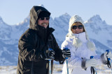 dana and mike in jackson hole, wyoming
