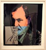 Sigmund Freud, 1980, by Andy Warhol