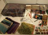 painter`s instruments