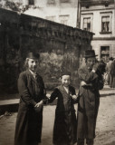 Cracow`s boys from a Hassidic families