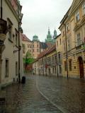 Kanonicza str. -  behind - royal castle