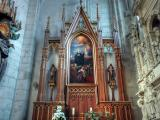 altar in lateral nave