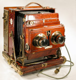 Thornton Pickard Royal Ruby Stereo Field Camera