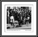 Mayfield Sussex Meeting of the Hounds Goat Cart c1913 framed.jpg