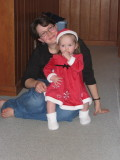 Miss Santa and Mommy
