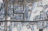 'Bird's eye view' van het Kempisch landschap - Winter