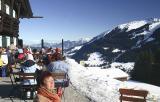 Kleinwalsertal - Winterwanderung Höhenweg - Sonn-Alp / Zaferna Bergstation