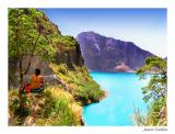 A nice spot for lunch, Pinatubo crater, Pampanga, Philippines