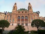 The back of the Casino Montecarlo