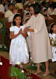 Hannah's First Communion