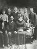 Lawrence Dow Bullard & Family 1915