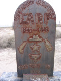 Warren Baxter  Earp Headstone Willcox, AZ
