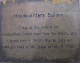 HQ Saloon - Marker (Warren Earp)