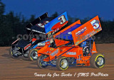 Lernerville Speedway WoO Sprints Silver Cup 07/20/10