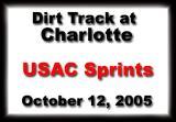 October 12, 2005  USAC Sprints