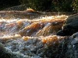 les rapides de la rivière du Moulin