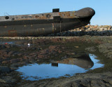 reflet du sous-marin