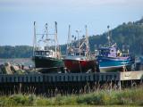 bateaux de pêche aux Méchins