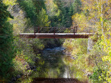 le pont sur la rivière Ouelle