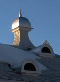le clocher de l'auberge