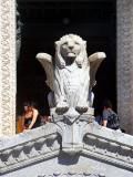 Lion de pierre