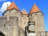 les tours d'entrées, Carcassonne