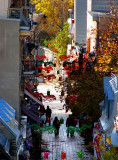 rue du Petit Champlain en enfilade