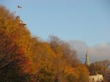 pleine automne sur Québec