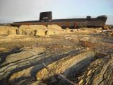L'Onondaga dans les rochers