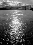 vue du pont de Québec