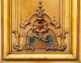 une poignée de porte originale