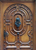porte cloutée
