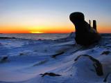 Onondaga en soirée d'hiver
