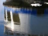reflet d'un traversier