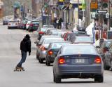 rouli-roulant sur St-Jean