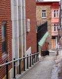 la rampe d'accès