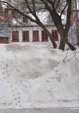 méchant banc de neige