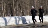 les joggers au bois