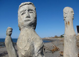 trio sur plage
