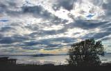 ciel nuageux à Kamouraska
