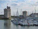 Port de La Rochelle et les petits bateaux